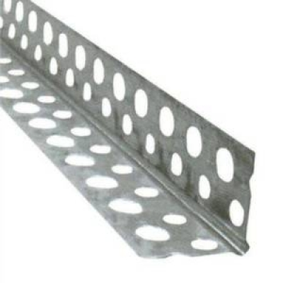 Угол перфорированный (алюминий) 3 м