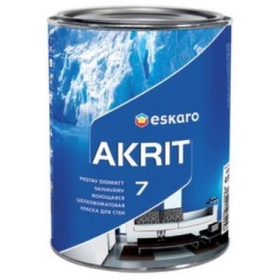 Краска Eskaro Akrit-7 A 9.5 л