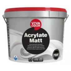 Износостойкая краска для стен Vivacolor Acrylate Matt (2,7 л)