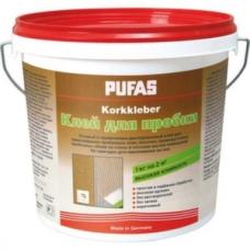 Pufas Korkkleber 4 кг Клей для пробки (Германия)