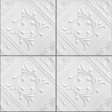 Потолочная плита Romstar 43 28 м2 белая