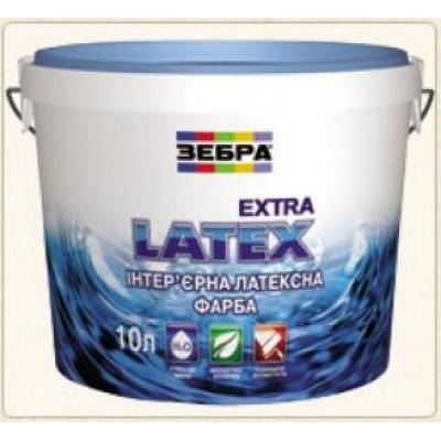 ЗЕБРА ExtraLatex, белая, 10 л