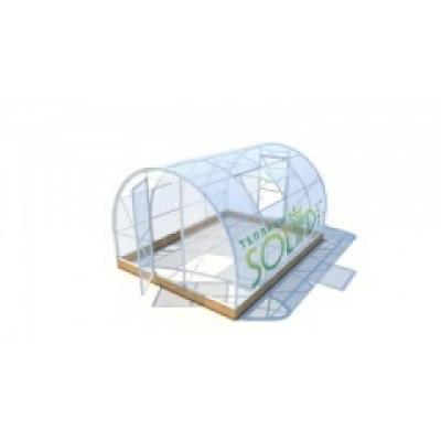 Тепличный поликарбонат 2,10 х 12,0 ТМ Solidprof толщина 4мм прозрачный (лист.)