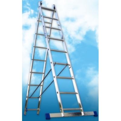 Алюминиевая двухсекционная лестница (2.52м)