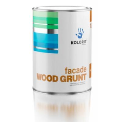 Грунтовочный антисептик Kolorit Facade Wood Grunt (3 л)