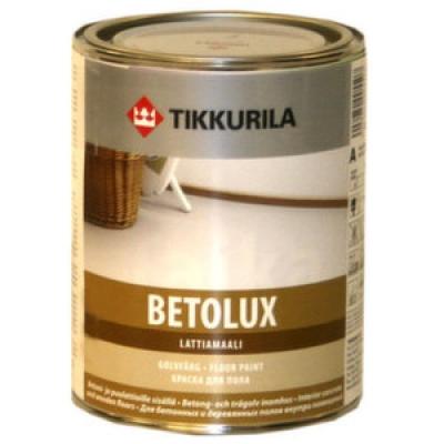 Краска для полов Tikkurila Betolux lattiamaali (2.7 кг)