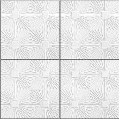 Потолочная плита РОМСТАР 20 30 м2 белая