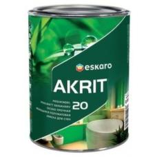 Краска Eskaro Akrit-20 А 9.5 л