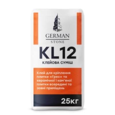 Клей для плитки GERMAN STONE KL-12 25 кг