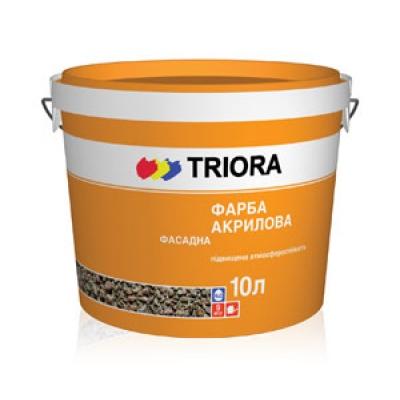 Фасадная краска TRIORA 10 литр