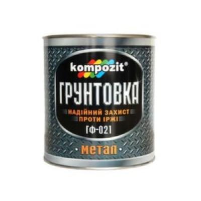 Грунт Композит ГФ-021 белый 0.9 кг