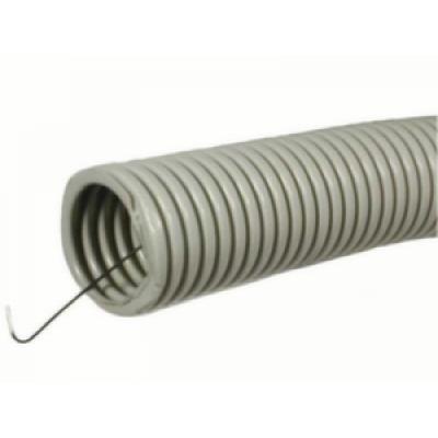 Труба гофрированная 1610.7мм с протяжкой, бухта 100м, ДКС (м.)