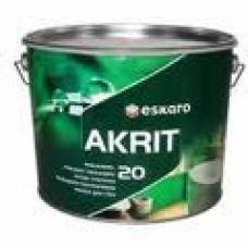 Краска Eskaro Akrit-20  9.5 л