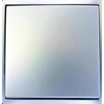 Клавиша одинарная выключателя графит (шт.)