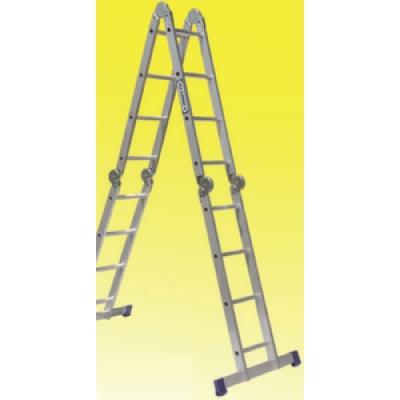 Лестница алюминиевая шарнирная (4.57м)