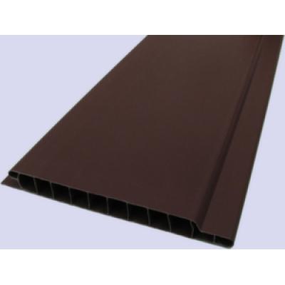 Вагонка пластиковая Шоколад 10x600 (м2)