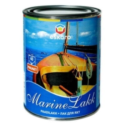 Лак Eskaro Marine 40 0.95 л яхтный полуматовый