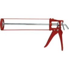 Пистолет для герметика скелетный красный