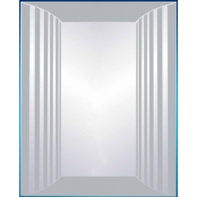 Зеркало 31 П с пескоструйным узором
