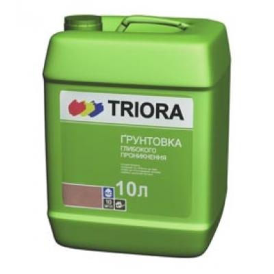 """Грунтовка глубокого проникновения """"TRIORA"""", 10 л"""