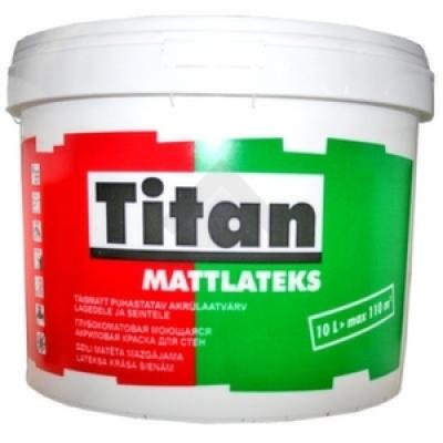 Краска Eskaro Titan Mattlatex для стен 1 л
