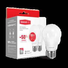 Лампа светодиодная LED A60 10W 220B E27 4100K