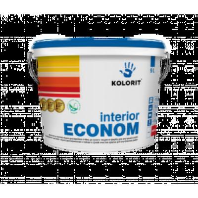 Водно-дисперсионная краска для внутренних работ Interior Econom