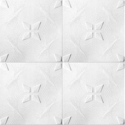 Потолочная плита Romstar 91 28 м2 белая