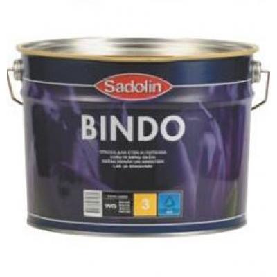 Краска Sadolin Bindo 3 WO матовая 1 л