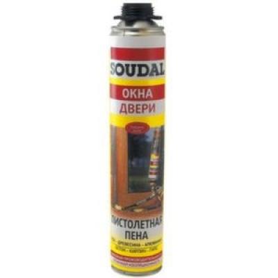 Пена монтажная Soudal Pro 750мл (под пистолет)