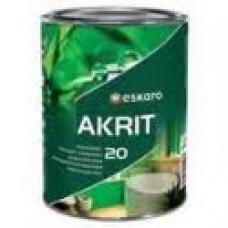 Краска Eskaro Akrit-20 А 0.95 л