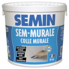 Клей Semin SEM MURALE для стеклообоев ведро 10 кг