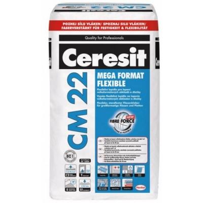 Клей для плитки Ceresit CM 22 MEGA FORMAT FLEXIBLE