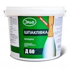 Акриловая шпаклевка Эльф Д-60 (17кг)