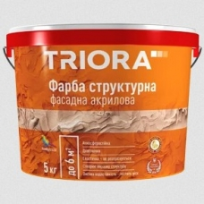 Декоративная структурная краска TRIORA, 15 кг