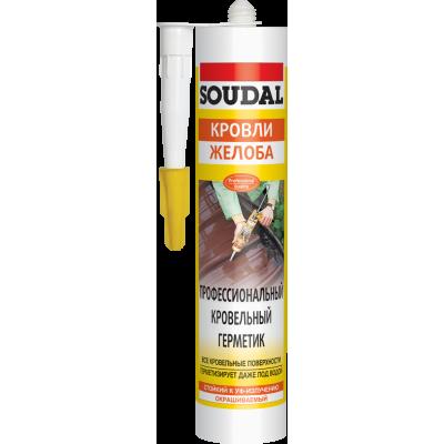 Профессиональный кровельный герметик Soudal (AQUAFIX)