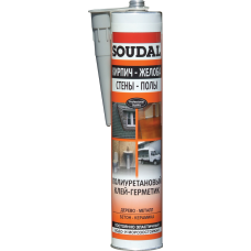 Полиуретановый герметик Soudal 290 мл
